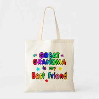 Great Grandma Best Friend Tote Bag