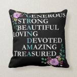 "Great Grandma best Gift for Grandmother Pillow<br><div class=""desc"">Show your love and respect presenting this lovely pillow for your mom, wife, mother, mama, mommy, grandma, grandmother, granny, nana, sister and so on. Great gift for birthday, Christmas or any other occasion for Grandmothers - this pillow is sure to make your great grandma feel special and appreciated! It will...</div>"