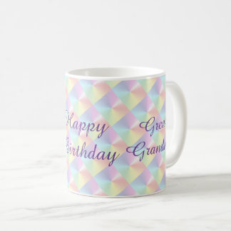 Great Grandma Birthday Diamond Shimmer Mug by Janz