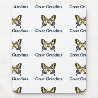 Great Grandma Butterfly BRBL Mouse Pad