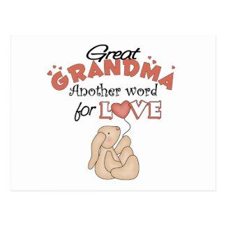 Great Grandma Children s Gift Post Cards