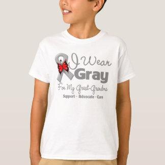 Great-Grandma - Gray Ribbon Awareness T-Shirt
