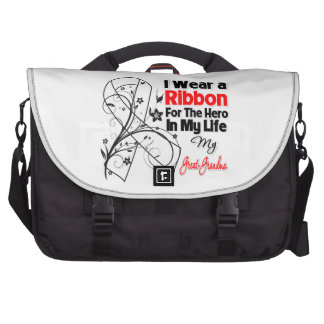 Great-Grandma Hero in My Life Lung Cancer Bags For Laptop