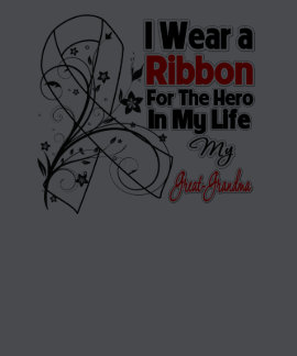 Great-Grandma Hero in My Life Lung Cancer T Shirt