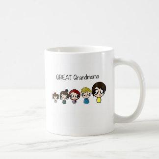Great grandma classic white coffee mug