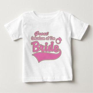 Great Grandma of the Bride Baby T-Shirt
