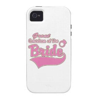 Great Grandma of the Bride Case-Mate iPhone 4 Case