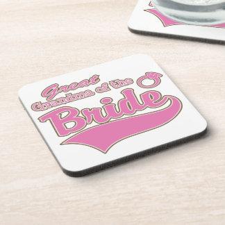 Great Grandma of the Bride Coasters
