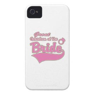 Great Grandma of the Bride iPhone 4 Case-Mate Case