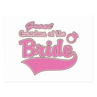 Great Grandma of the Bride Postcards
