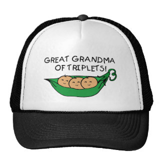 Great Grandma of Triplets Trucker Hat