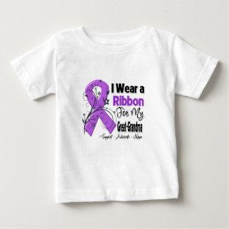 Great-Grandma - Pancreatic Cancer Ribbon Tshirt