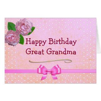 Happy Birthday Great Grandma Cards Zazzle