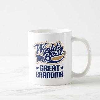 Great Grandma Worlds Best Classic White Coffee Mug