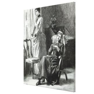 Great-Grandmamma Severan by Leslie Keith Canvas Prints