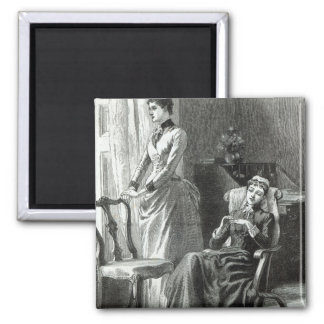 Great-Grandmamma Severan by Leslie Keith Fridge Magnet