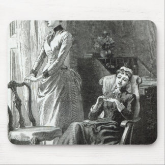 Great-Grandmamma Severan by Leslie Keith Mouse Pad