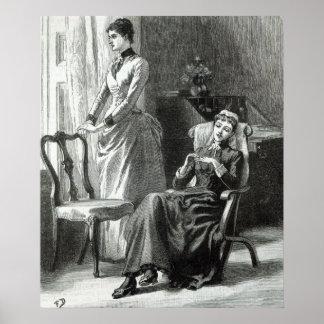 Great-Grandmamma Severan by Leslie Keith Print