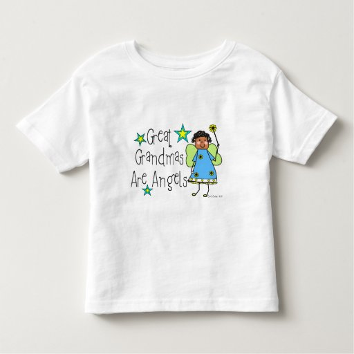 Great Grandmas Are Angels Gifts (Afro-American) Toddler T-shirt