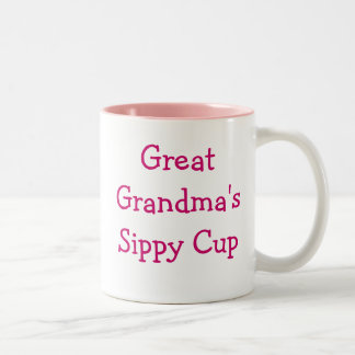 Great grandma's sippy cup