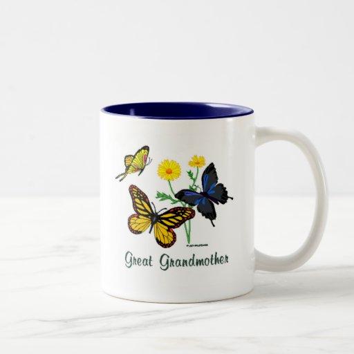Great Grandmother Butterflies Mug