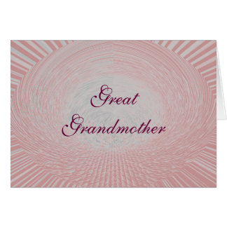 Great Grandmother Cards