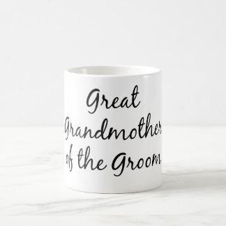 Great grandmother of the groom mug