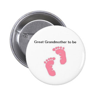 Great Grandmother to be 2 Inch Round Button