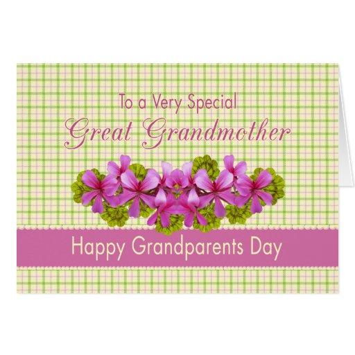 Great Grandmother's Garden Card