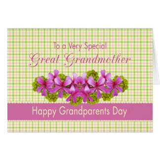 Great Grandmother's Garden Greeting Card