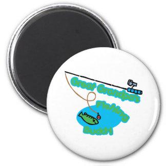 Great Grandpa's Fishing Buddy Fridge Magnet