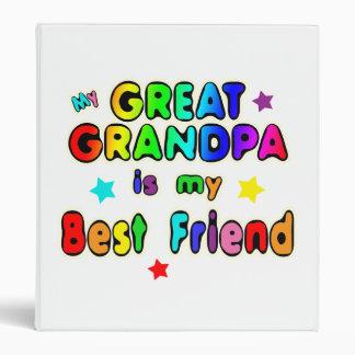 Great Grandpa Best Friend 3 Ring Binder