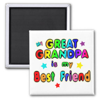 Great Grandpa Best Friend Magnet