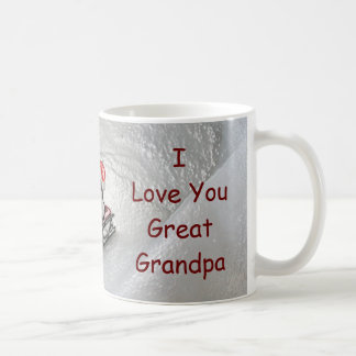 Great Grandpa Christmas - I Love You Penguin Coffee Mug