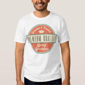 Great Grandpa (Funny) Gift Tee Shirts