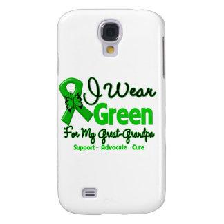 Great Grandpa - Green Awareness Ribbon Samsung Galaxy S4 Covers