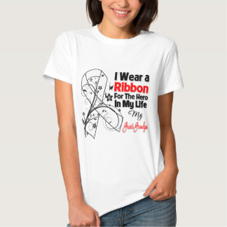 Great-Grandpa Hero in My Life Lung Cancer Tshirts