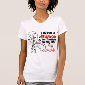 Great-Grandpa Hero in My Life Lung Cancer T-shirt