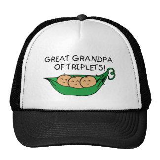 Great Grandpa of Triplets Pod Trucker Hat