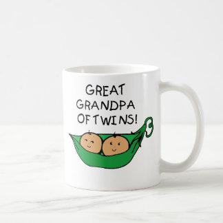 Great Grandpa of Twins Pod Coffee Mug