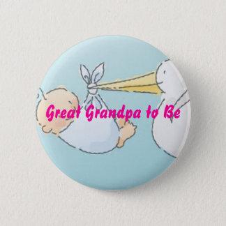 Great Grandpa to Be Pinback Button