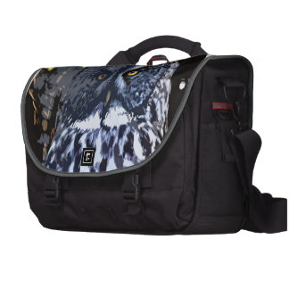 Great Gray Owl Artistic Laptop Commuter Bag