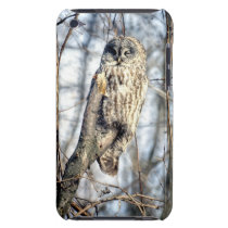 Great Gray Owl - Creamy Brown Watcher Barely There iPod Cover