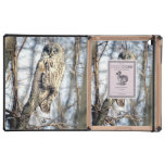 Great Gray Owl, Creamy Brown Watcher Case For iPad