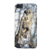 Great Gray Owl - Creamy Brown Watcher iPod Touch 5G Cover