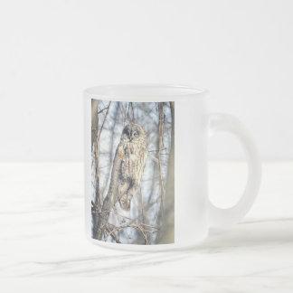 Great Gray Owl - Creamy Brown Watcher Mugs