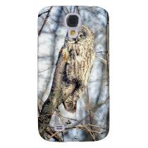 Great Gray Owl - Creamy Brown Watcher Samsung Galaxy S4 Case