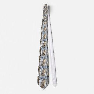 Great Gray Owl - Creamy Brown Watcher Tie