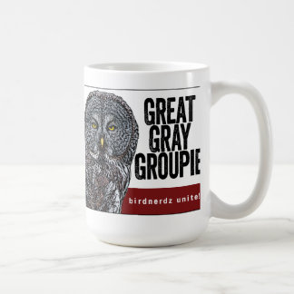 Great Gray Owl Great Gray Groupie Mug