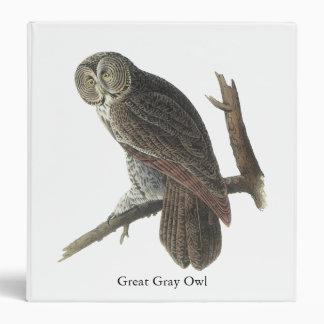 Great Gray Owl, John Audubon Binder
